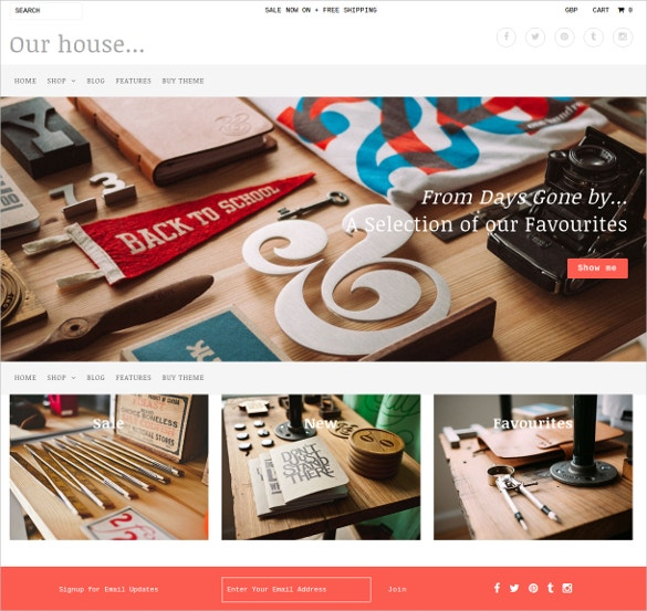 fashion boutique website theme 140