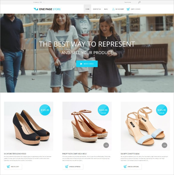 Shoe Store Fashion Shopify Website Theme $139