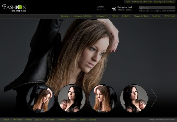 Fullscreen Fashion Theme For Opencart $32