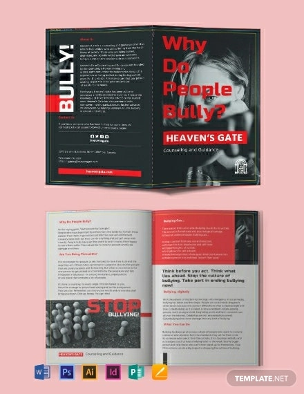 12  bullying brochure templates