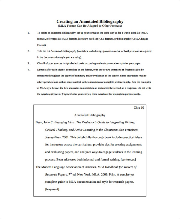 cse annotated bibliography template1