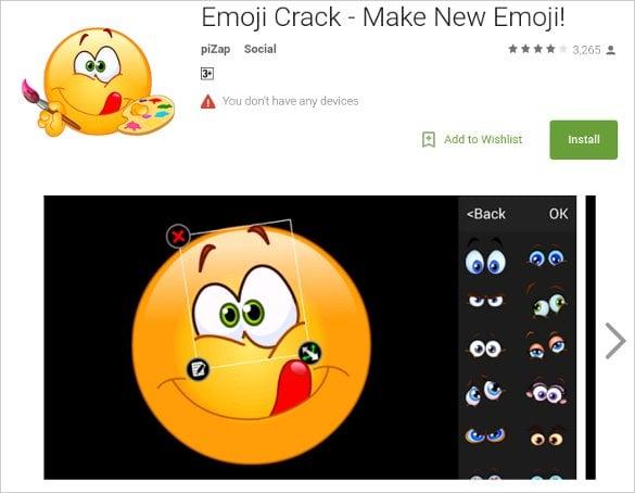 crack emoji faces