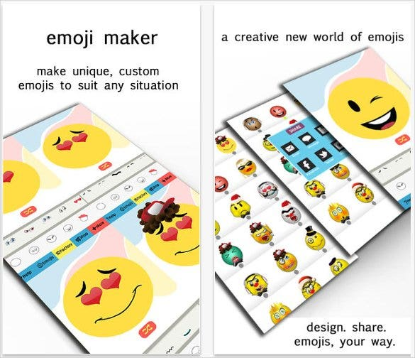 emoji maker create custom smiley faces share1