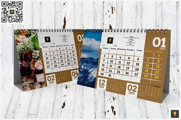 high quality 2017 desktop calendar template download
