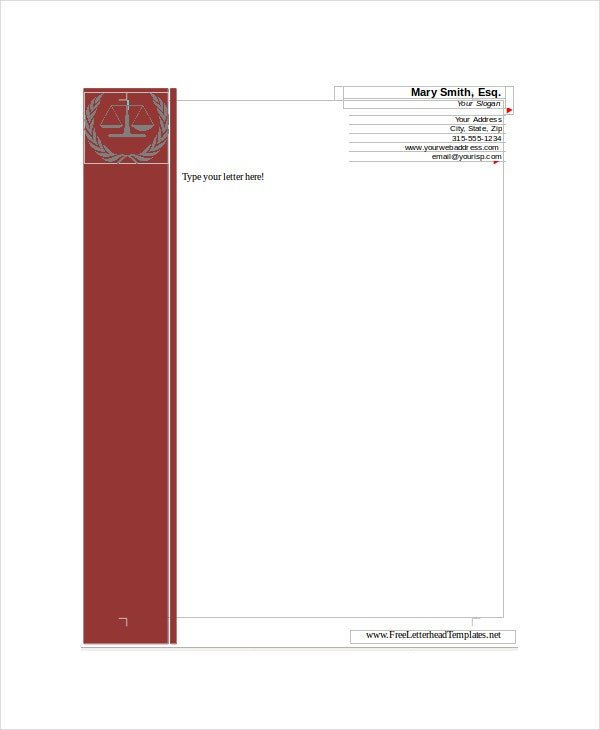 legal-letterhead-templates
