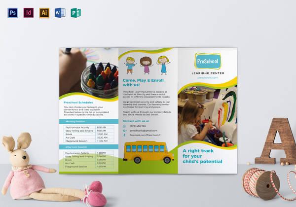 pre-school-brochure-template