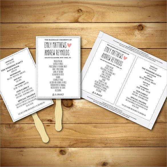 romantic wedding card template for download1