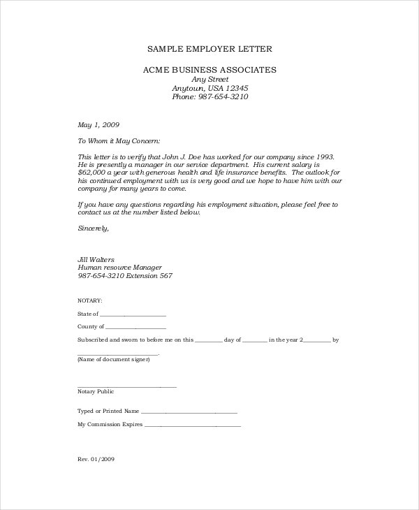 sample-employe-letterhead-template