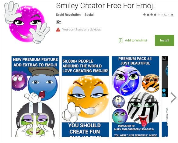 smiley creator free for emoji for android1