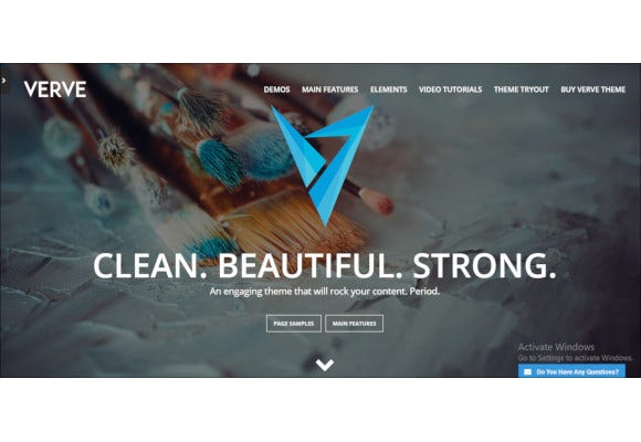 verve high style wordpress theme