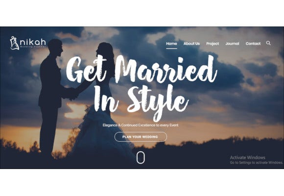 wedding organizer planner wordpress theme