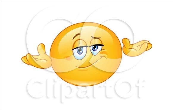 yellow emoticon smiley shrugging download1
