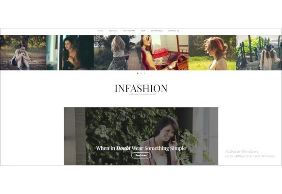 ashion blog wordpress theme