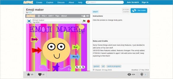 scratch emoji maker online tool for free1