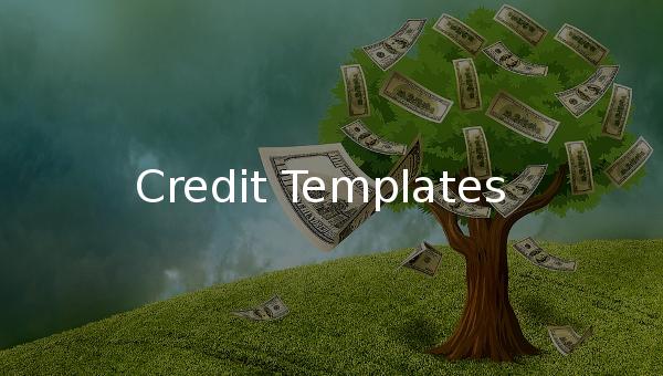 credit templates