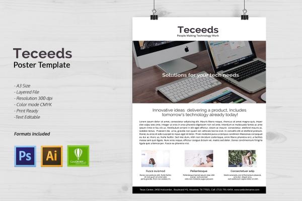 Startup Business Poster Design