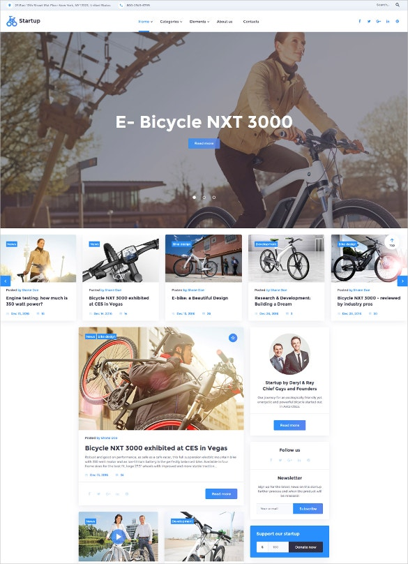 multipurpose website html5 template