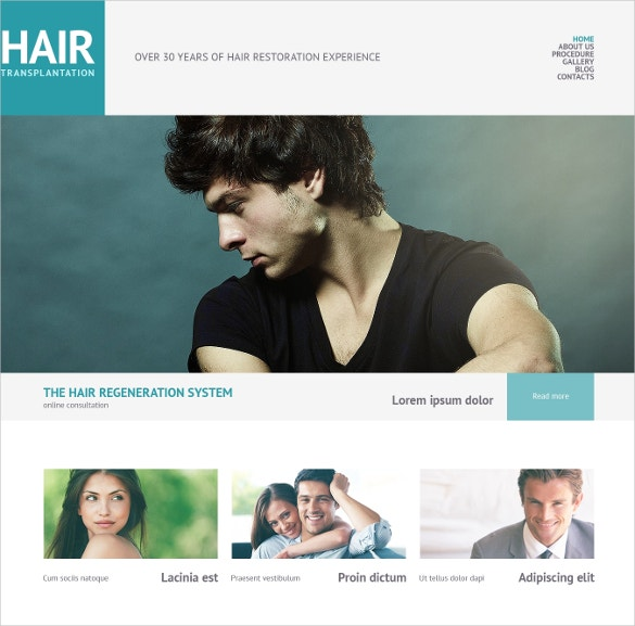 hair salon beauty blog wordpress theme 75