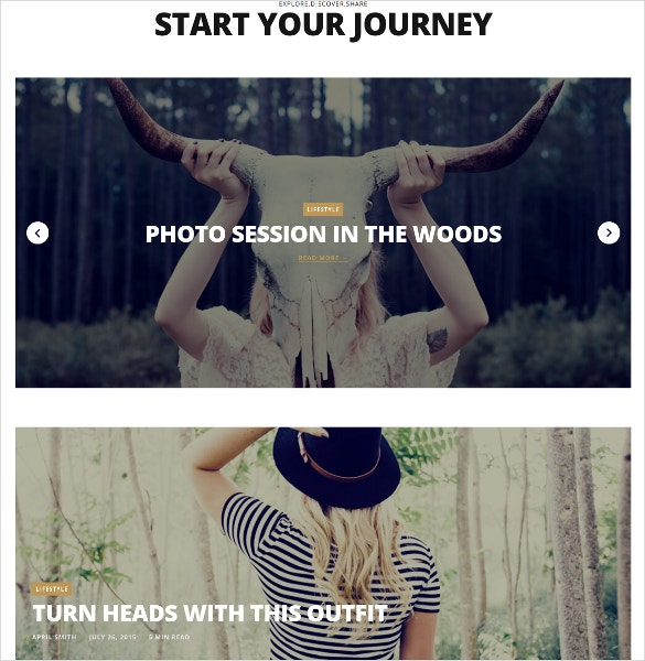 beautiful photo wordpress blog theme 44