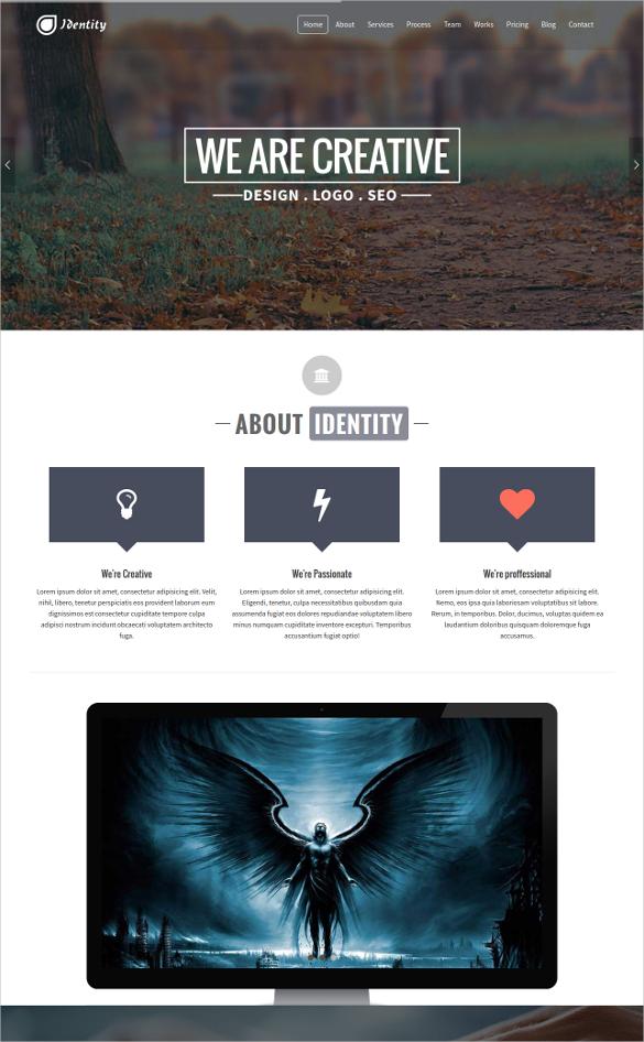 identity response multipurpose html5 template