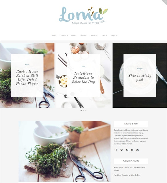 multipurpose beauty blog wordpress template 49