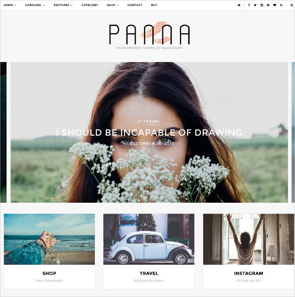 fashion beauty blog shop wordpress template 45