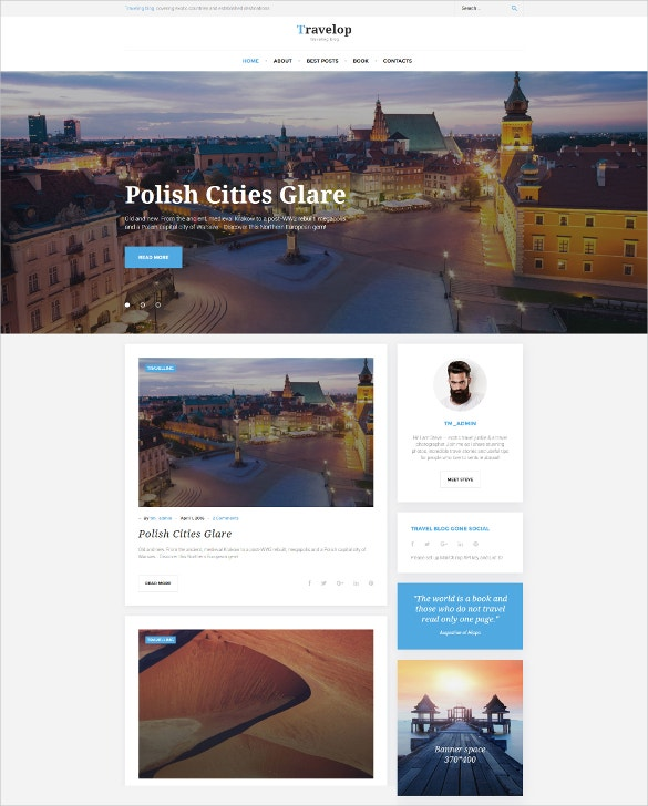 traveling cities blog wordpress theme 45