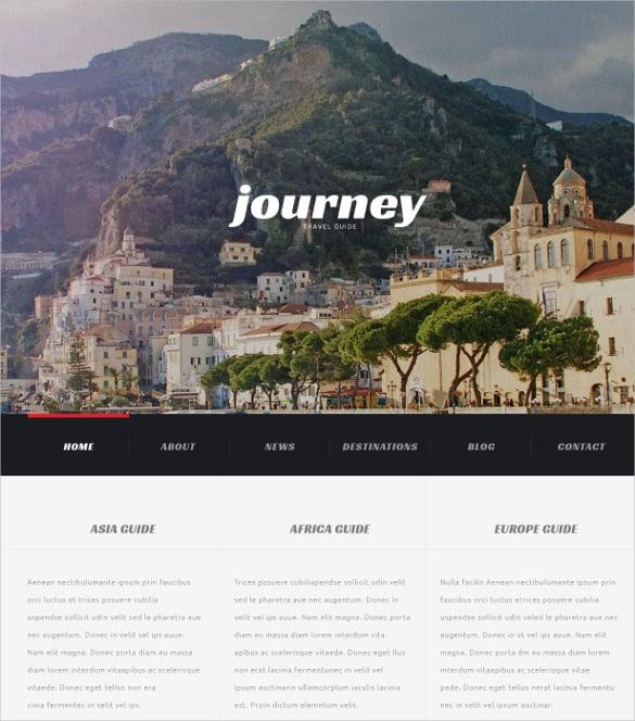 travel agency journey blog wordpress theme 75