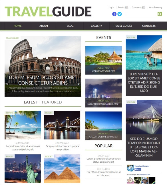 world fashion travel news portal wordpress blog theme 75