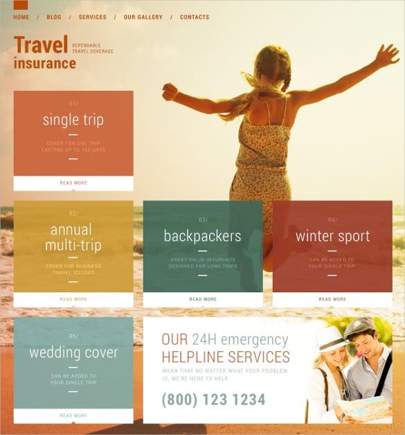 travel vacation security wordpress blog theme 75
