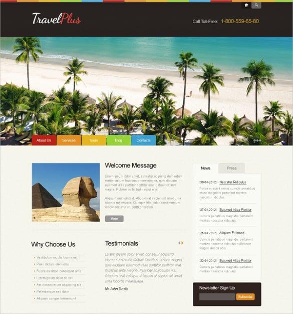 travel agency wordpress blog theme 67