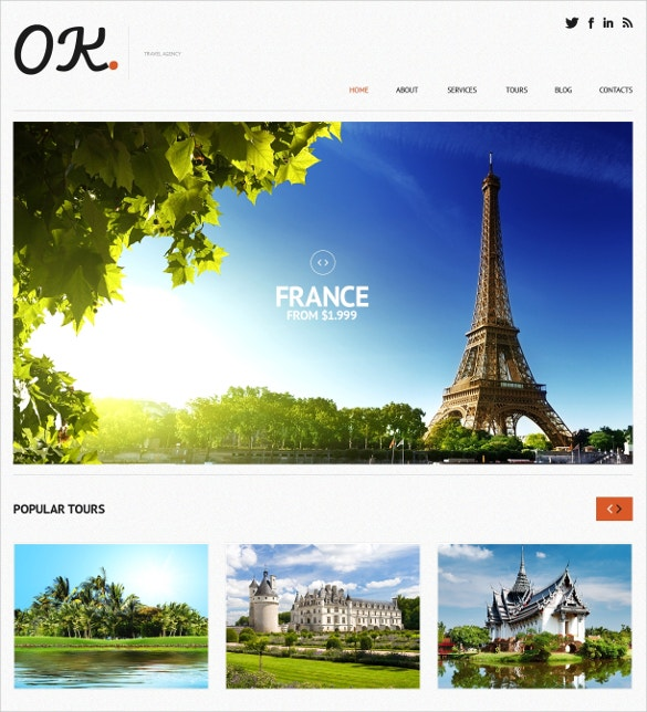 new places travel agency wordpress template 75
