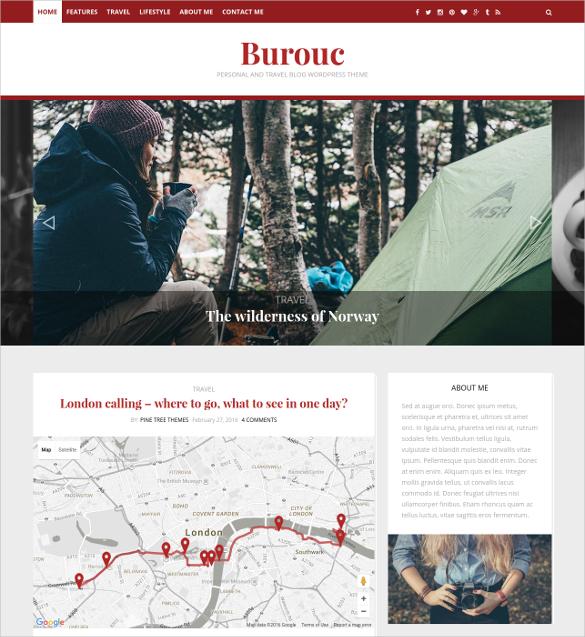 personal and travel blog wordpress theme 44