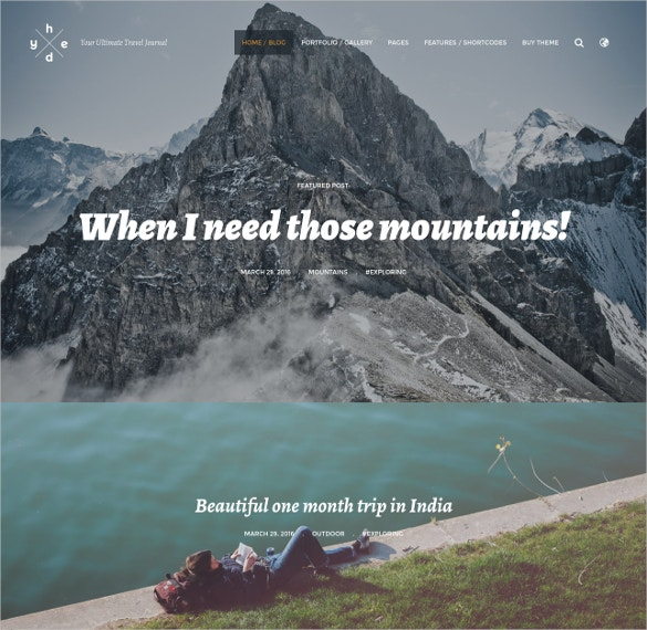 adventure wordpress blog traveler theme 39