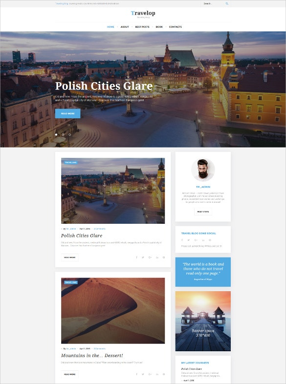traveling blog wordpress theme2