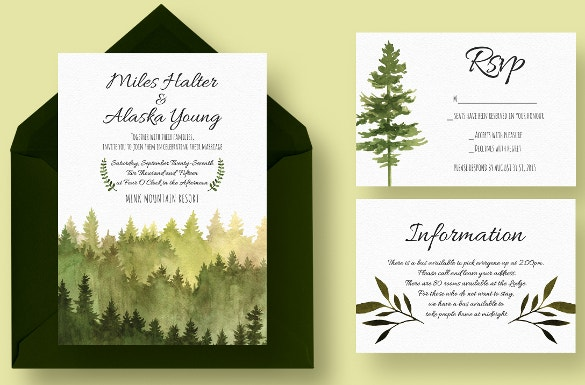 beautiful wedding suite program psd template