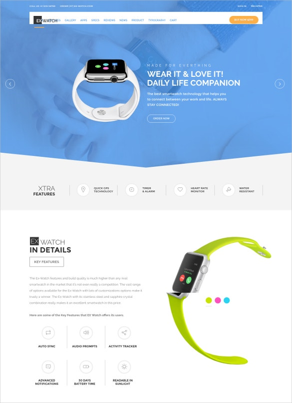 ecommerce single product html template