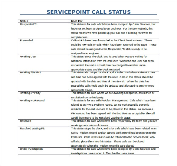free word primary care sevice point template download