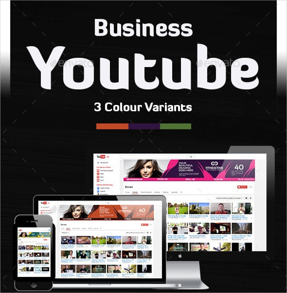 ultimate youtube banner psd format free download
