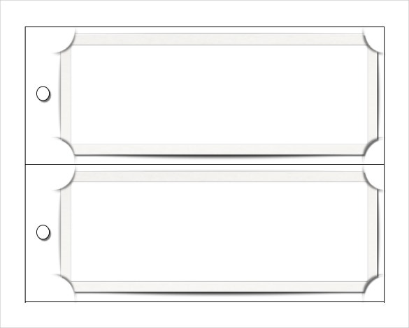 blank bookmark template
