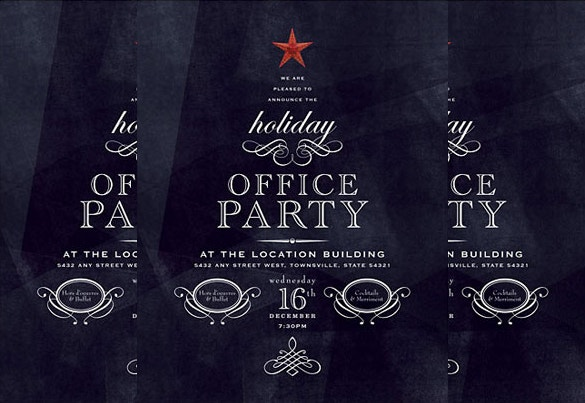 office holiday template word download