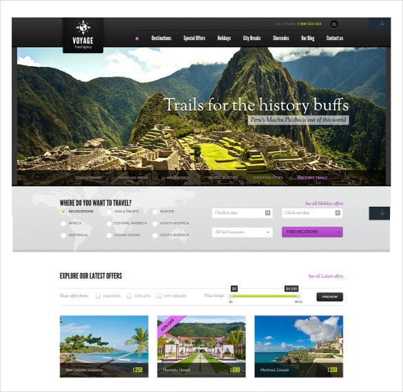 online travel agency wordpress blog theme 95
