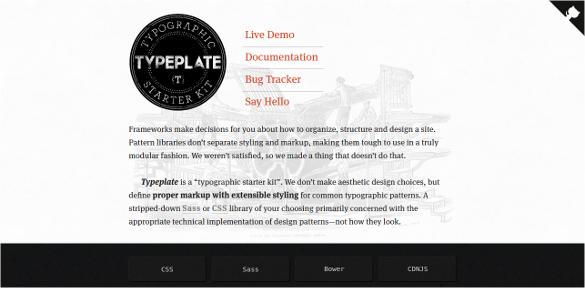 Typelate