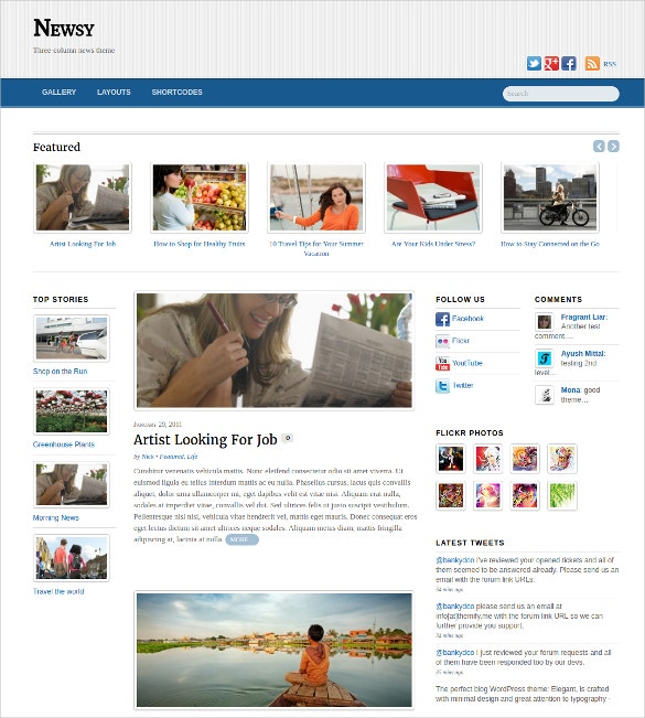 amazing responsive wordpress blognewsmagazine theme 79