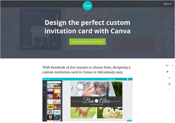 Top best 12 online invitation makers tools to make your invite canva stopboris