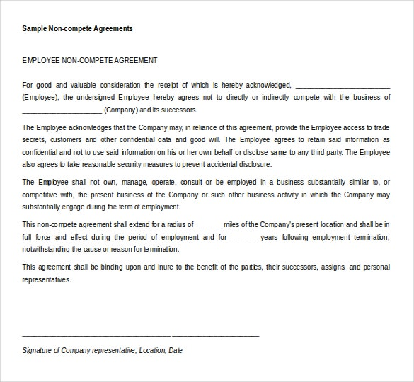 Microsoft Word Agreement Templates Free Download  Free