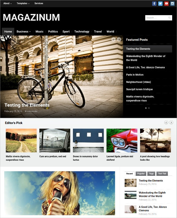 innovative design news blog wordpress theme 69