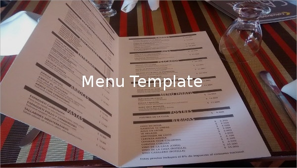 Free Menu Template For Word from images.template.net