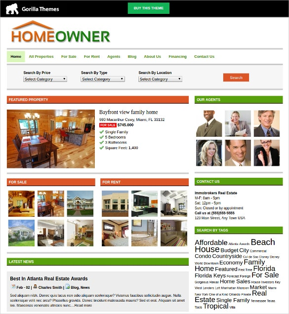 premium real estate mortgage wordpress theme 49
