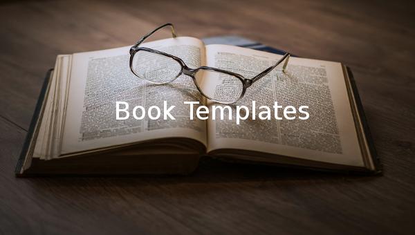 book template1